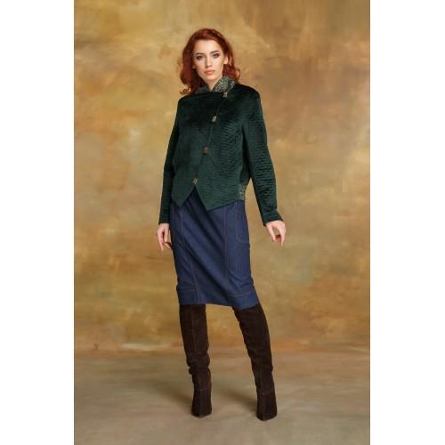 """Куртка """"зеленый бархат"""""""