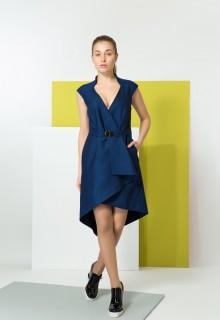Платье CHIC синее